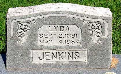 JENKINS, LYDA - Boone County, Arkansas | LYDA JENKINS - Arkansas Gravestone Photos