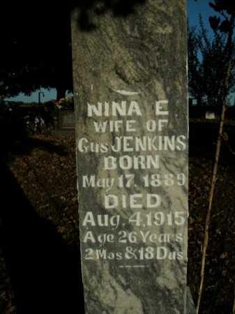 JENKINS, NINA E. - Boone County, Arkansas | NINA E. JENKINS - Arkansas Gravestone Photos