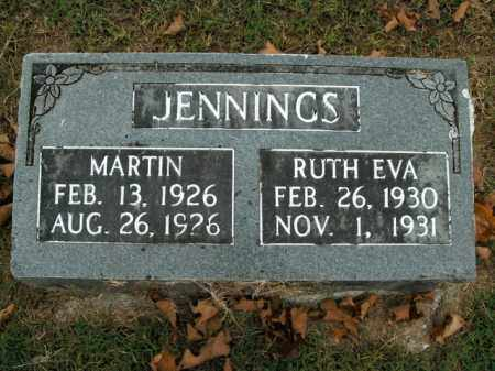 JENNINGS, RUTH EVA - Boone County, Arkansas | RUTH EVA JENNINGS - Arkansas Gravestone Photos