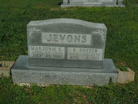 JEVONS, B. FOSTER - Boone County, Arkansas | B. FOSTER JEVONS - Arkansas Gravestone Photos