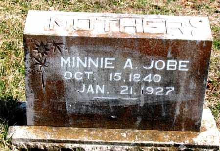 JOBE, MINNIE  A. - Boone County, Arkansas | MINNIE  A. JOBE - Arkansas Gravestone Photos