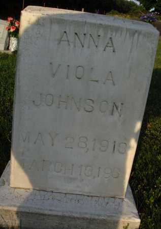 JOHNSON, ANNA VIOLA - Boone County, Arkansas | ANNA VIOLA JOHNSON - Arkansas Gravestone Photos