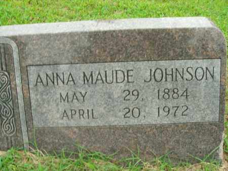 JOHNSON, ANNA MAUDE - Boone County, Arkansas | ANNA MAUDE JOHNSON - Arkansas Gravestone Photos