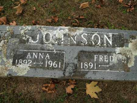 JOHNSON, ANNA - Boone County, Arkansas | ANNA JOHNSON - Arkansas Gravestone Photos