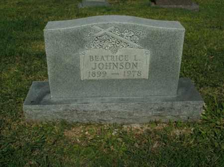 JOHNSON, BEATRICE L. - Boone County, Arkansas | BEATRICE L. JOHNSON - Arkansas Gravestone Photos