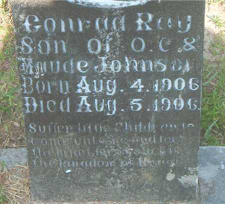 JOHNSON, CONRAD RAY - Boone County, Arkansas | CONRAD RAY JOHNSON - Arkansas Gravestone Photos