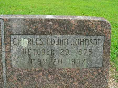 JOHNSON, CHARLES EDWIN - Boone County, Arkansas | CHARLES EDWIN JOHNSON - Arkansas Gravestone Photos