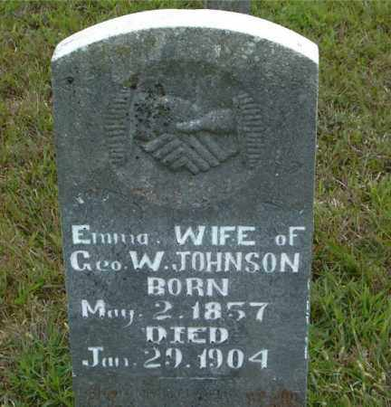 JOHNSON, EMMA - Boone County, Arkansas | EMMA JOHNSON - Arkansas Gravestone Photos