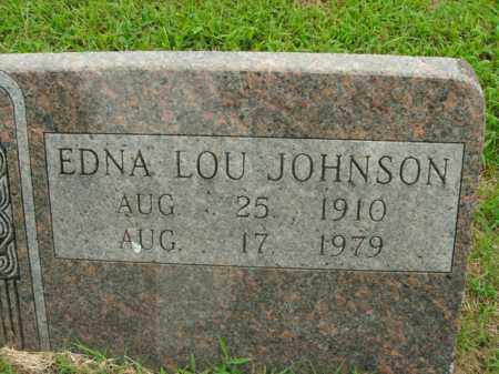JOHNSON, EDNA LOU - Boone County, Arkansas | EDNA LOU JOHNSON - Arkansas Gravestone Photos