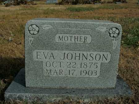JOHNSON, EVA - Boone County, Arkansas   EVA JOHNSON - Arkansas Gravestone Photos