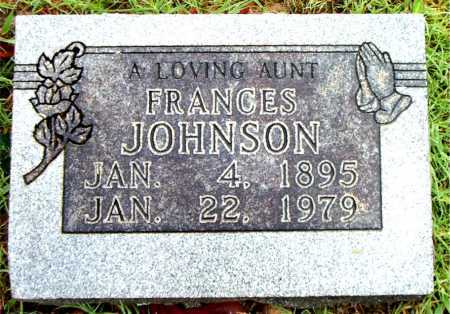 JOHNSON, FRANCES - Boone County, Arkansas | FRANCES JOHNSON - Arkansas Gravestone Photos