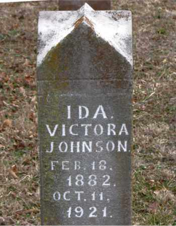PATTON JOHNSON, IDA VICTORIA - Boone County, Arkansas | IDA VICTORIA PATTON JOHNSON - Arkansas Gravestone Photos