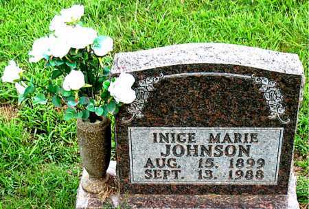 BROWN JOHNSON, INICE MARIE - Boone County, Arkansas | INICE MARIE BROWN JOHNSON - Arkansas Gravestone Photos