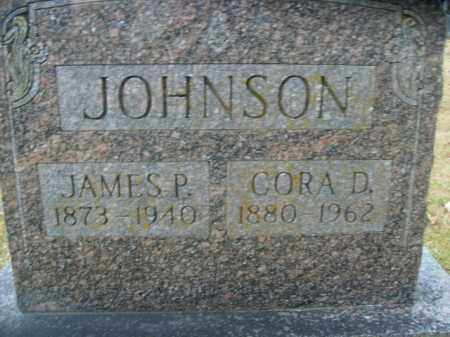 JOHNSON, CORA D. - Boone County, Arkansas | CORA D. JOHNSON - Arkansas Gravestone Photos