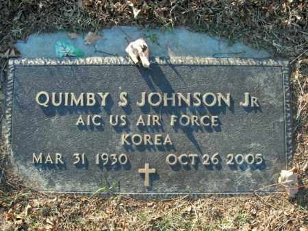 JOHNSON, JR  (VETERAN KOR), QUIMBY S - Boone County, Arkansas | QUIMBY S JOHNSON, JR  (VETERAN KOR) - Arkansas Gravestone Photos