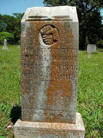 JOHNSON, LUCINDA K. - Boone County, Arkansas   LUCINDA K. JOHNSON - Arkansas Gravestone Photos