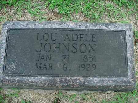 JOHNSON, LOU ADELE - Boone County, Arkansas | LOU ADELE JOHNSON - Arkansas Gravestone Photos