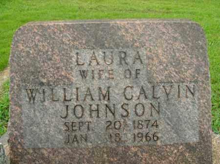 JOHNSON, LAURA - Boone County, Arkansas | LAURA JOHNSON - Arkansas Gravestone Photos