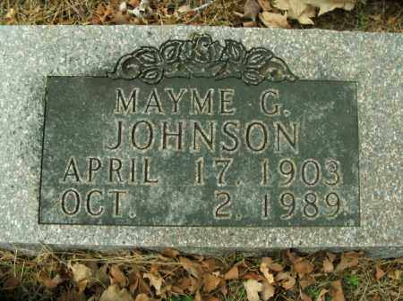 JOHNSON, MAYME GLENNIE - Boone County, Arkansas | MAYME GLENNIE JOHNSON - Arkansas Gravestone Photos
