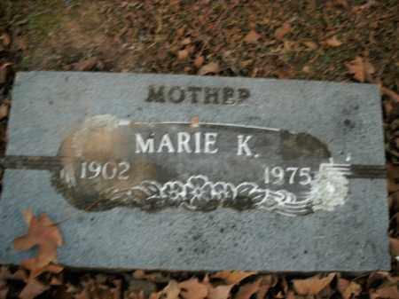 JOHNSON, MARIE K. - Boone County, Arkansas | MARIE K. JOHNSON - Arkansas Gravestone Photos