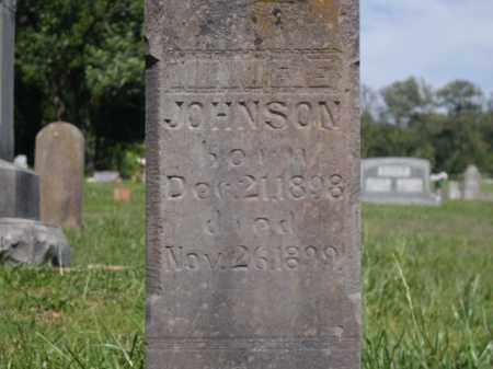 JOHNSON, MINNIE E. - Boone County, Arkansas | MINNIE E. JOHNSON - Arkansas Gravestone Photos