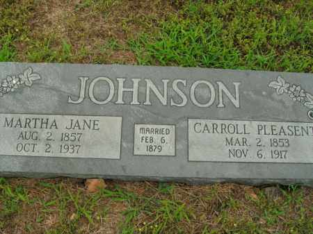 JOHNSON, CARROLL PLEASENT - Boone County, Arkansas | CARROLL PLEASENT JOHNSON - Arkansas Gravestone Photos