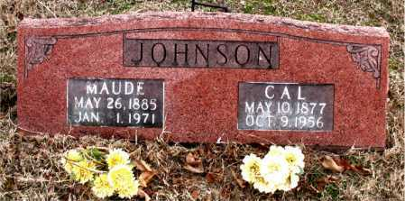 JOHNSON, CAL - Boone County, Arkansas | CAL JOHNSON - Arkansas Gravestone Photos