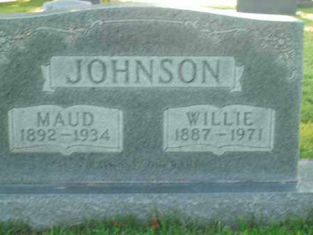 JOHNSON, WILLIE - Boone County, Arkansas | WILLIE JOHNSON - Arkansas Gravestone Photos