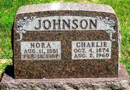 JOHNSON, CHARLIE - Boone County, Arkansas | CHARLIE JOHNSON - Arkansas Gravestone Photos