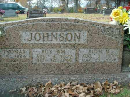 JOHNSON, ROY WILLIAM - Boone County, Arkansas | ROY WILLIAM JOHNSON - Arkansas Gravestone Photos