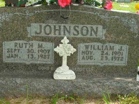 JOHNSON, WILLIAM J. - Boone County, Arkansas | WILLIAM J. JOHNSON - Arkansas Gravestone Photos