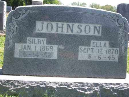 JOHNSON, SILBY - Boone County, Arkansas | SILBY JOHNSON - Arkansas Gravestone Photos