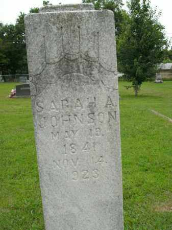 JOHNSON, SARAH ANN - Boone County, Arkansas | SARAH ANN JOHNSON - Arkansas Gravestone Photos