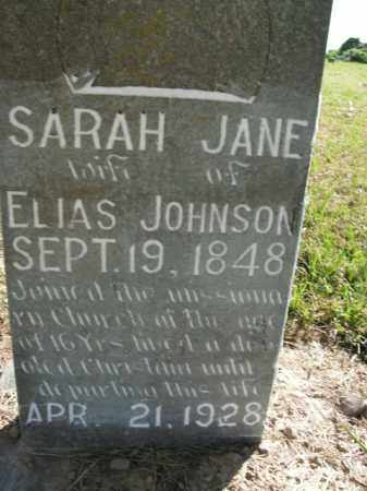 JOHNSON, SARAH JANE - Boone County, Arkansas | SARAH JANE JOHNSON - Arkansas Gravestone Photos