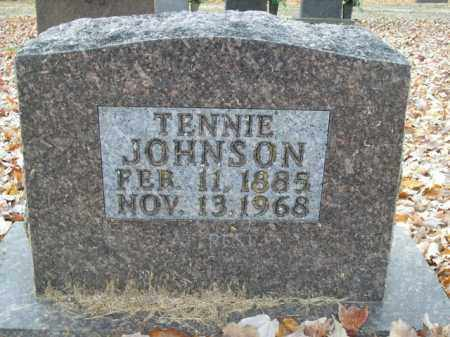 JOHNSON, TENNIE - Boone County, Arkansas | TENNIE JOHNSON - Arkansas Gravestone Photos