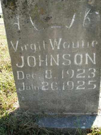 JOHNSON, VIRGIL WAULIE - Boone County, Arkansas | VIRGIL WAULIE JOHNSON - Arkansas Gravestone Photos