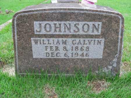 JOHNSON, WILLIAM CALVIN - Boone County, Arkansas | WILLIAM CALVIN JOHNSON - Arkansas Gravestone Photos