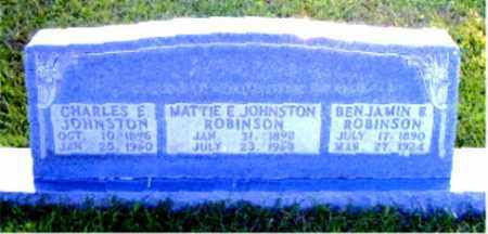 "ROBINSON, MARTHA ELLEN ""MATTIE"" - Boone County, Arkansas 