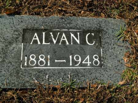 JONES, ALVAN C. - Boone County, Arkansas | ALVAN C. JONES - Arkansas Gravestone Photos