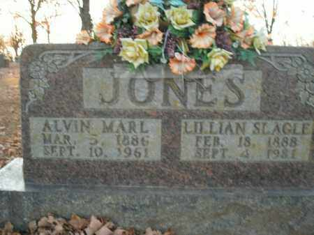 SLAGLE JONES, LILLIAN - Boone County, Arkansas | LILLIAN SLAGLE JONES - Arkansas Gravestone Photos