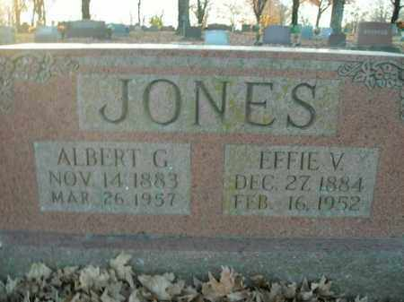 JONES, ALBERT G. - Boone County, Arkansas | ALBERT G. JONES - Arkansas Gravestone Photos