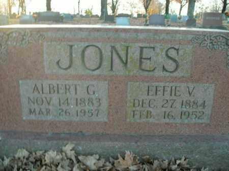 JONES, EFFIE V. - Boone County, Arkansas | EFFIE V. JONES - Arkansas Gravestone Photos