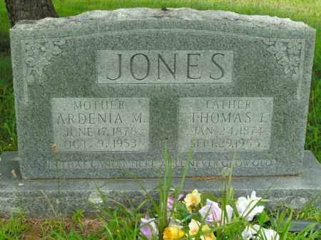 JONES, THOMAS F. - Boone County, Arkansas | THOMAS F. JONES - Arkansas Gravestone Photos