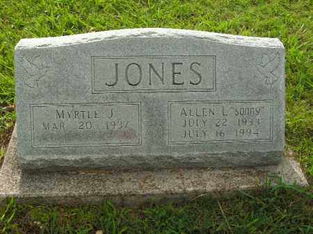"JONES, ALLEN L. ""SONNY"" - Boone County, Arkansas 