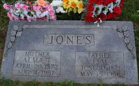 JONES, ALMA T. - Boone County, Arkansas | ALMA T. JONES - Arkansas Gravestone Photos