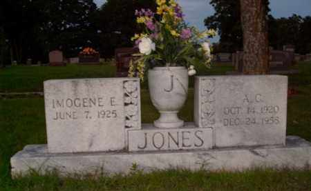 JONES, A.C. - Boone County, Arkansas | A.C. JONES - Arkansas Gravestone Photos