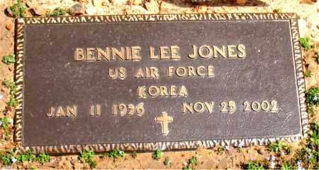 JONES  (VETERAN KOR), BENNIE LEE - Boone County, Arkansas | BENNIE LEE JONES  (VETERAN KOR) - Arkansas Gravestone Photos