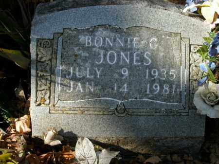 JONES, BONNIE G. - Boone County, Arkansas | BONNIE G. JONES - Arkansas Gravestone Photos