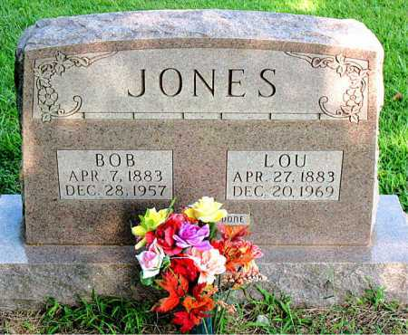 CARSON JONES, LOU - Boone County, Arkansas | LOU CARSON JONES - Arkansas Gravestone Photos
