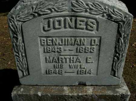 JONES, MARTHA E. - Boone County, Arkansas | MARTHA E. JONES - Arkansas Gravestone Photos